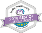 2018 Best of Senior Living Award